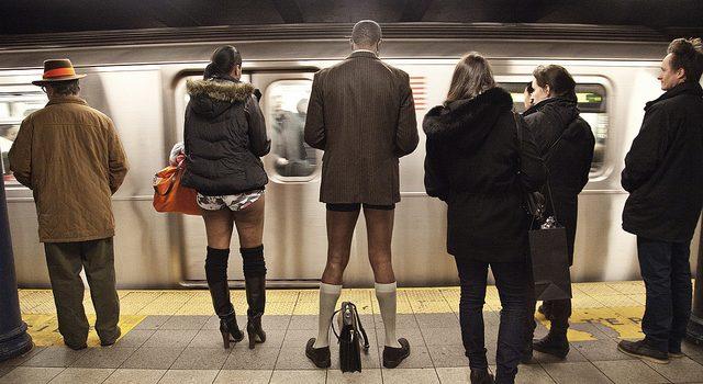 No Pants Subway Ride 2014