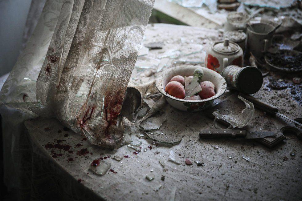 El fotógrafo ruso de la agencia European Pressphoto Agency (EPA) Sergei Ilnitsky es el ganador en la categoría de noticias generales