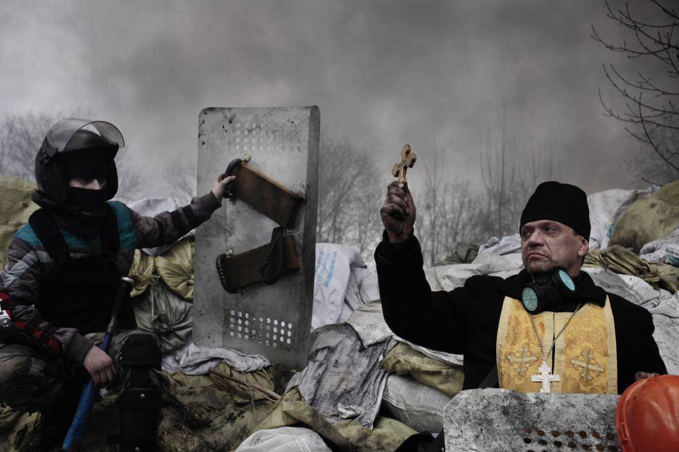 El fotógrafo francés Jerome Sessini, de la agencia Magnum, ha ganado el segundo premio en la categoría de noticias de actualidad