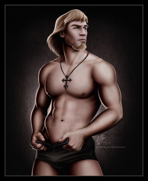 Capitán Phoebus - El jorobado de Notre Dame - Disney