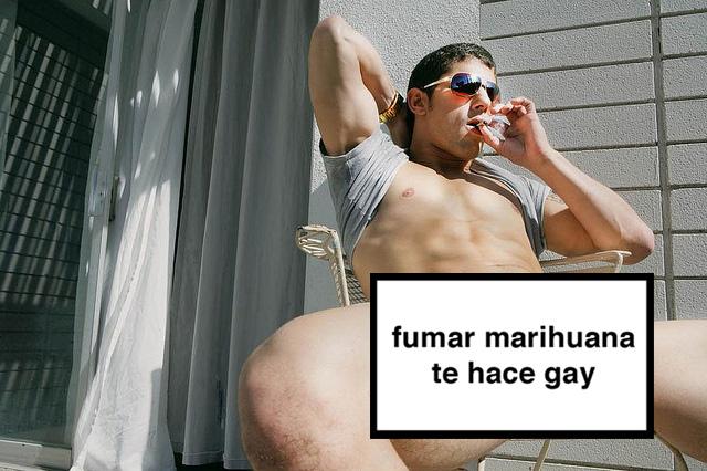 estudio mexicano fumar marihuana te hace gay