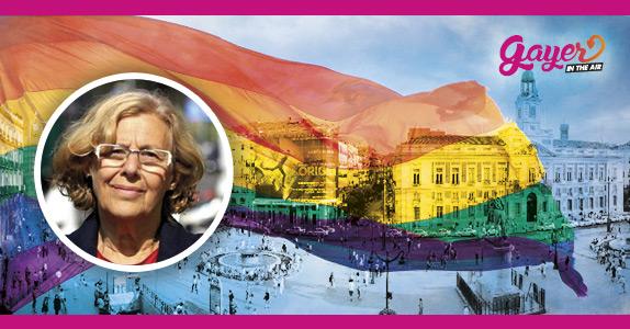 Carmena ofrece la Puerta del Sol al Orgullo Gay de Madrid