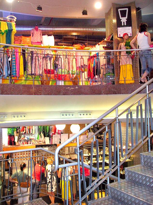 Interior Mercado de Fuencarral