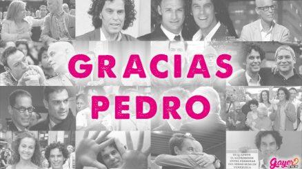 Gracias Pedro Zerolo