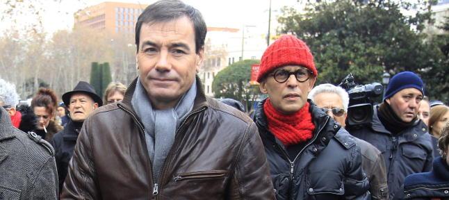Pedro Zerolo manifestación