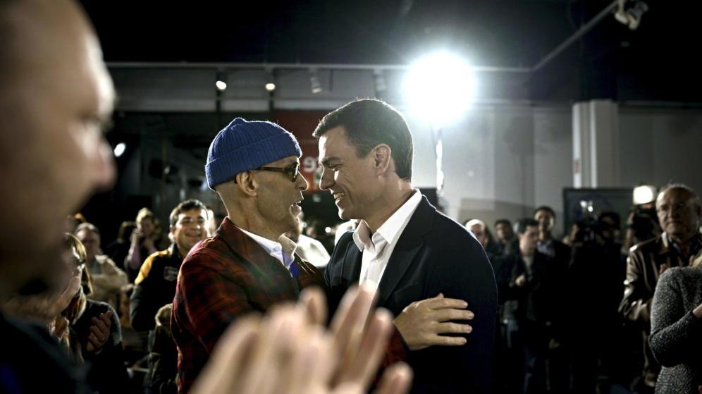 Pedro Zerolo y Pedro Sanchez