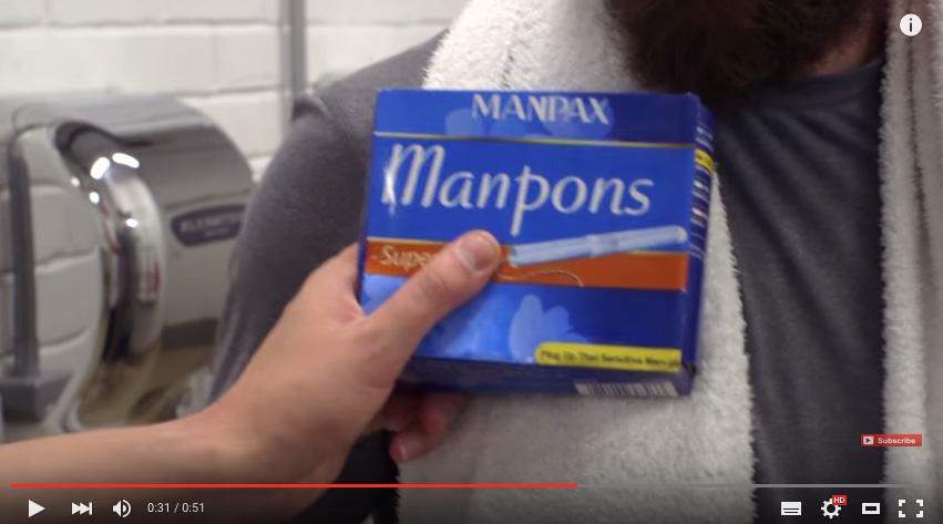 Manpons - Tampones para hombres