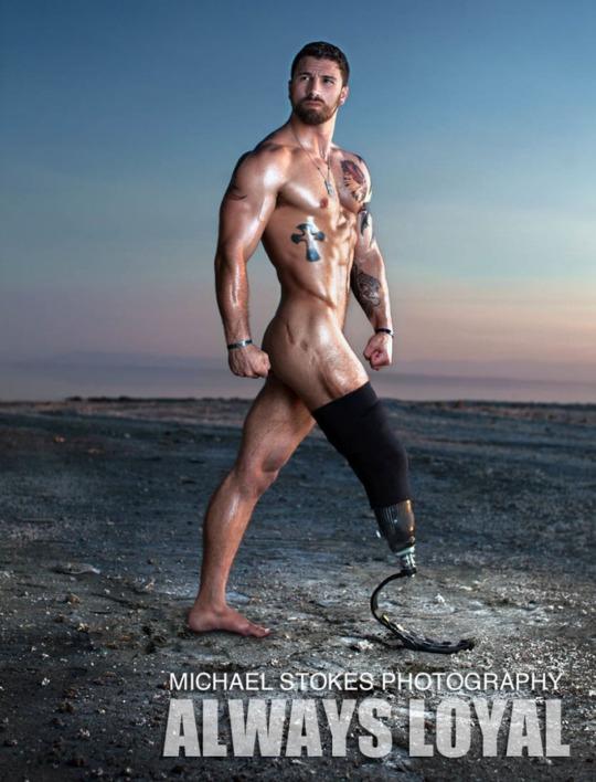 Michael Stokes y veteranos heridos