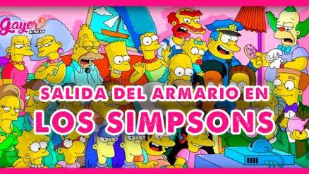 Salida del armario en Los Simpsons