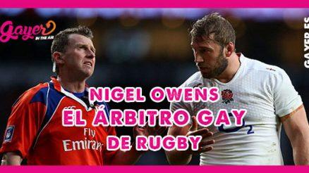Nigel Owens sale del armario