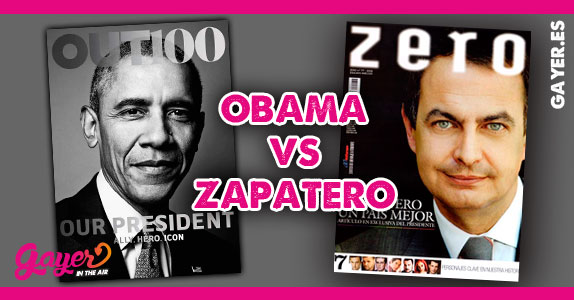 Obama en la revista gay Out