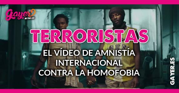 Amnistía Internacional contra la homofobia