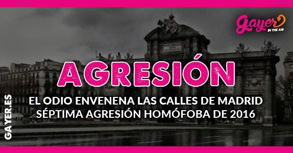 AGRESIÓN HOMÓFOBA EN MADRID