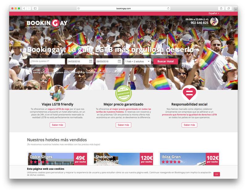 www.bookingay.com una de las veteranas en tursimo gay