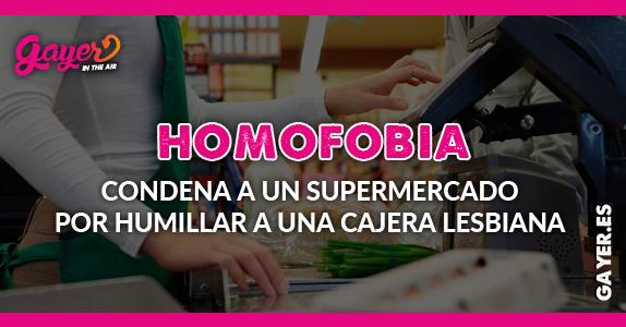 Homofobia en supermercado
