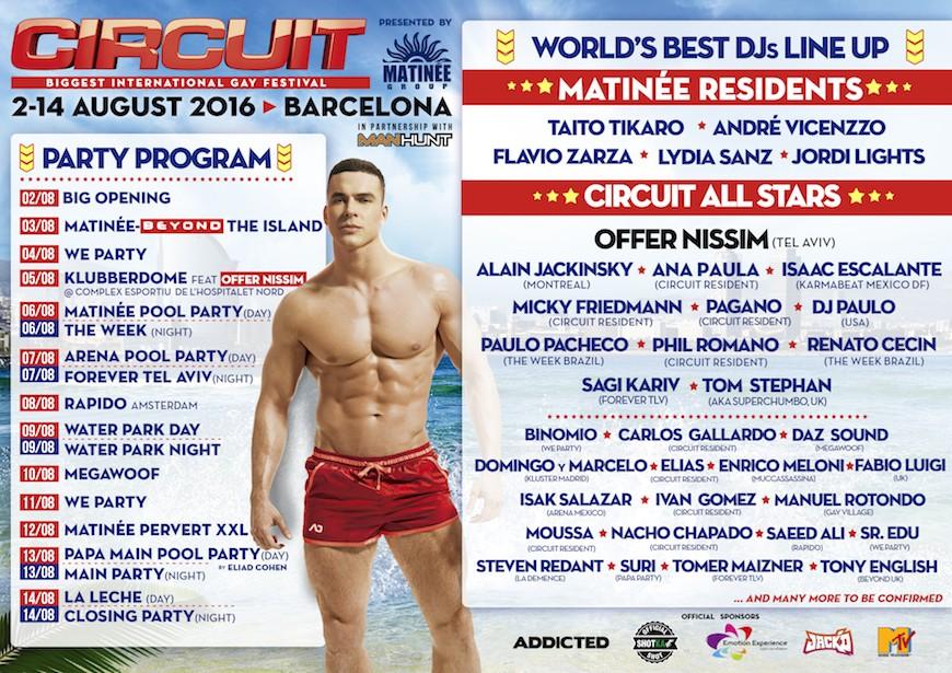 Programa de las fiestas de Barcelona