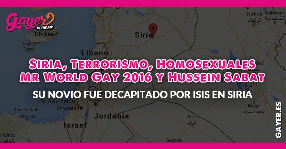 Víctima de ISIS desafía a los terroristas concursando en el Mr World Gay 2016
