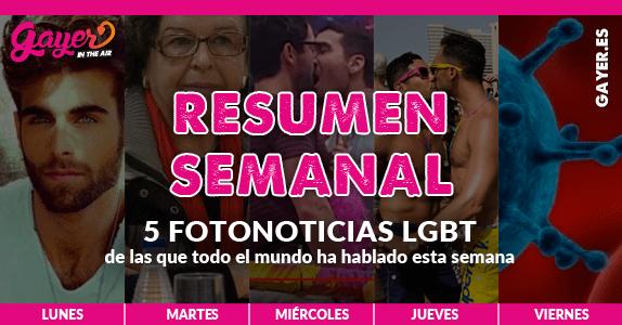 Repasa las fotonoticias más importante para el colectivo LGBT de la semana (30 mayo al 3 de junio)