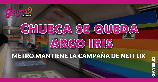 Cifuentes mantendrá el arco iris en Chueca