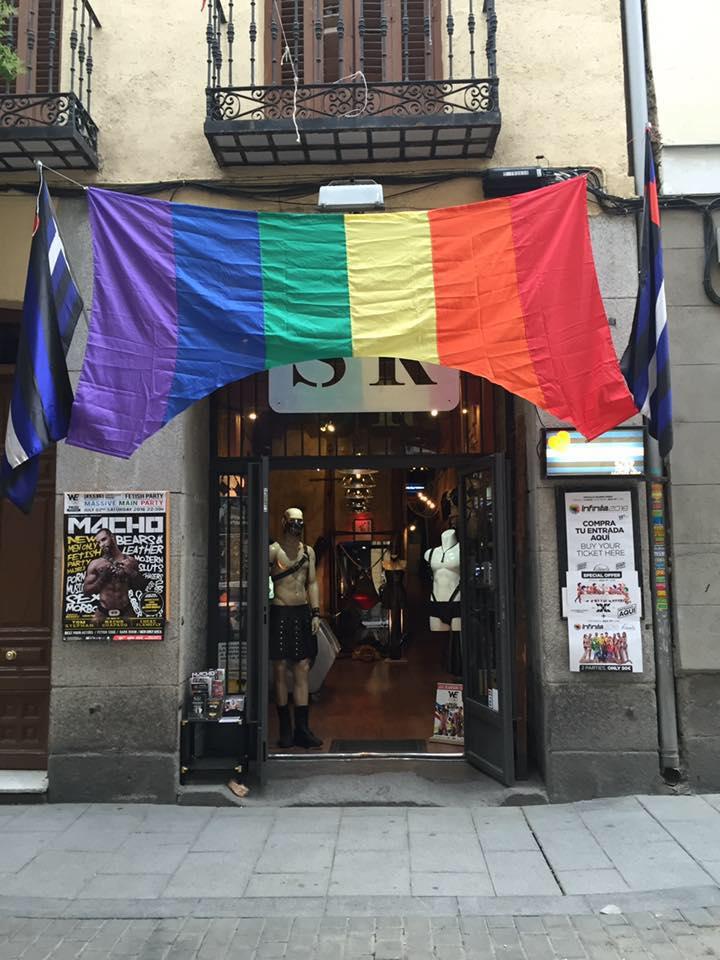 La tienda sadomasoquista mas importante de España
