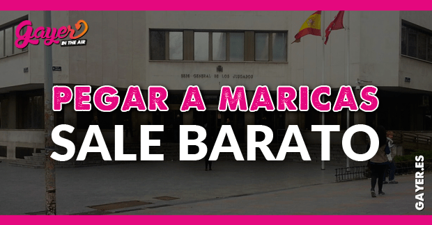 PEGAR MARICAS SALE BARATO EN MADRID