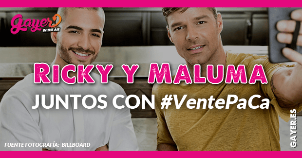 Maluma y Ricky Martin pareja musical