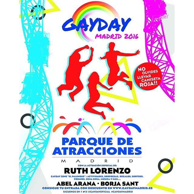 Gay Day en el Parque de Atracciones de Madrid