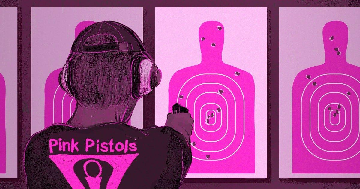 Asociación de armas del colectivo LGTB en USA
