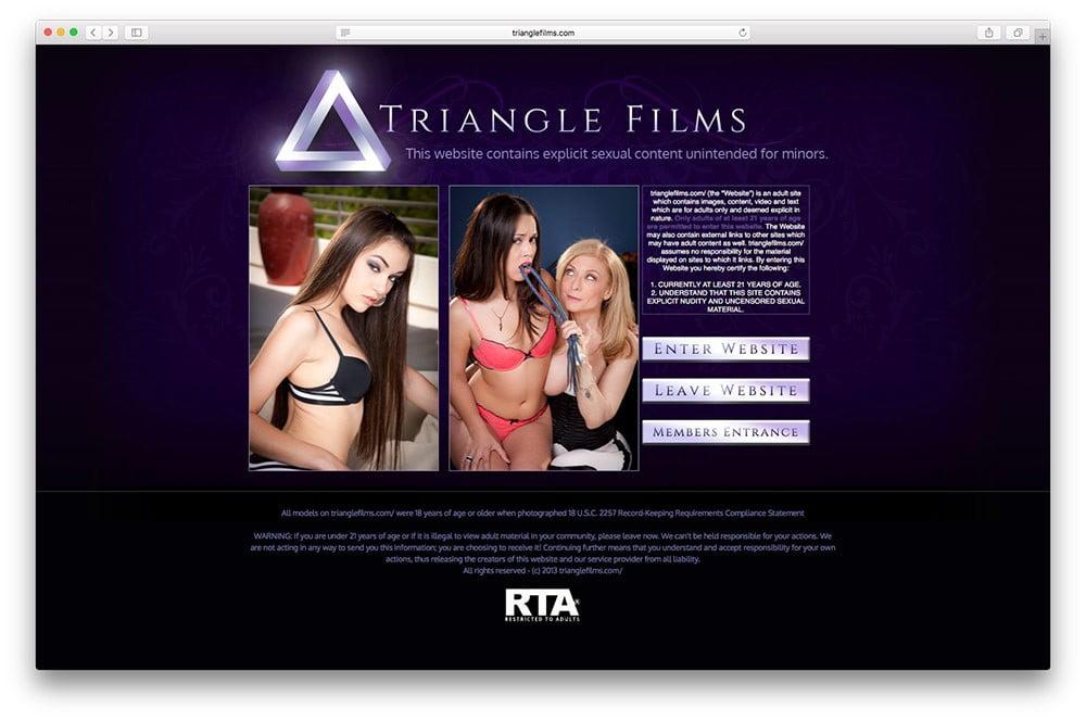 Trianglefilms / porno de lesbianas