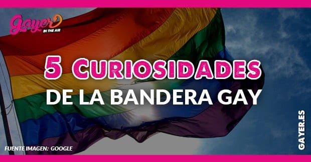 5 CURIOSIDADES SOBRE LA BANDERA GAY