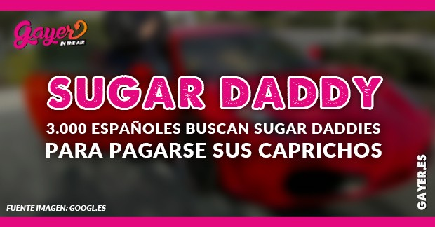 Se busca sugar daddy