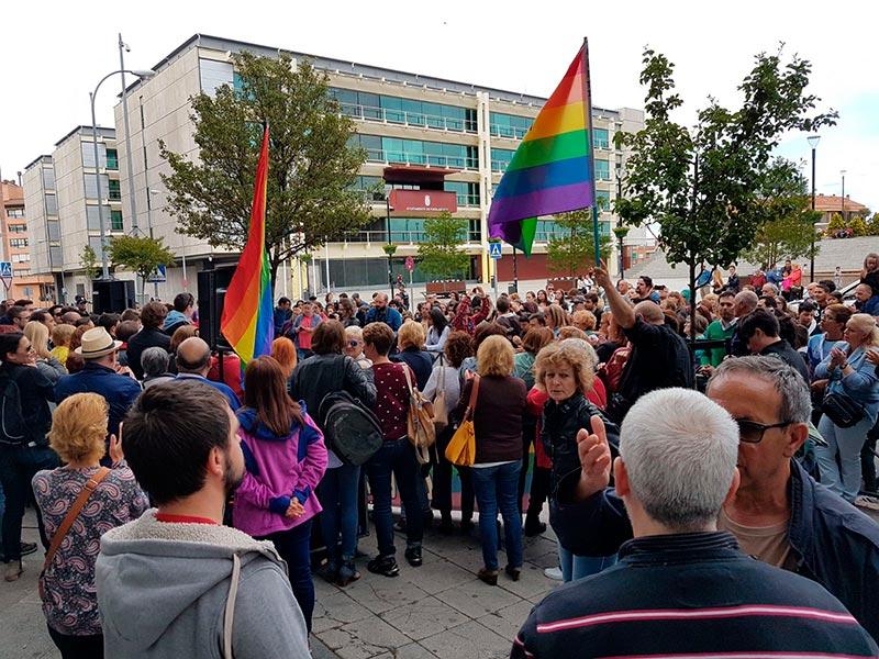 Fuenlabrada contra la homofobia | Fuente Img.: Israel B.