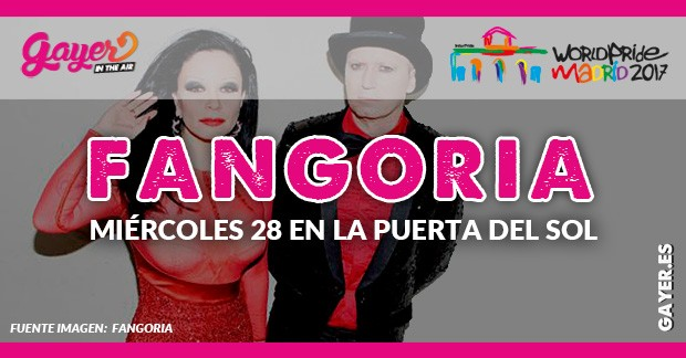 FANGORIA MIÉRCOLES 28 EN LA PUERTA DEL SOL MADRID