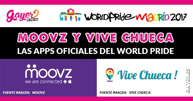 LAS APPS OFICIALES DEL WORLD PRIDE 2017