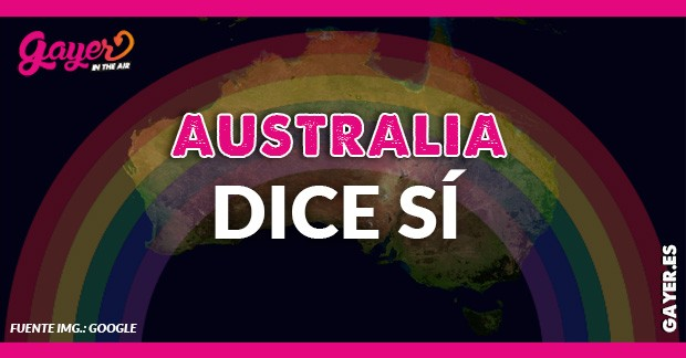 AUSTRALIA DICE SI EN REFERENDUM