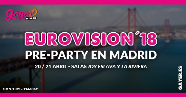 Eurovisión 2018 pre-party en Madrid