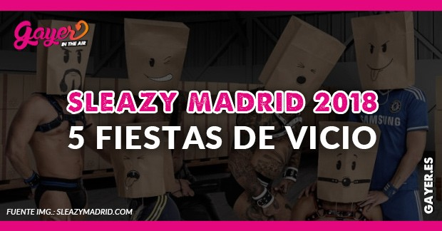 Sleazy Madrid 2018