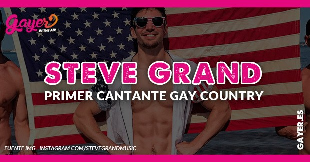 Steve Grand cantate countri