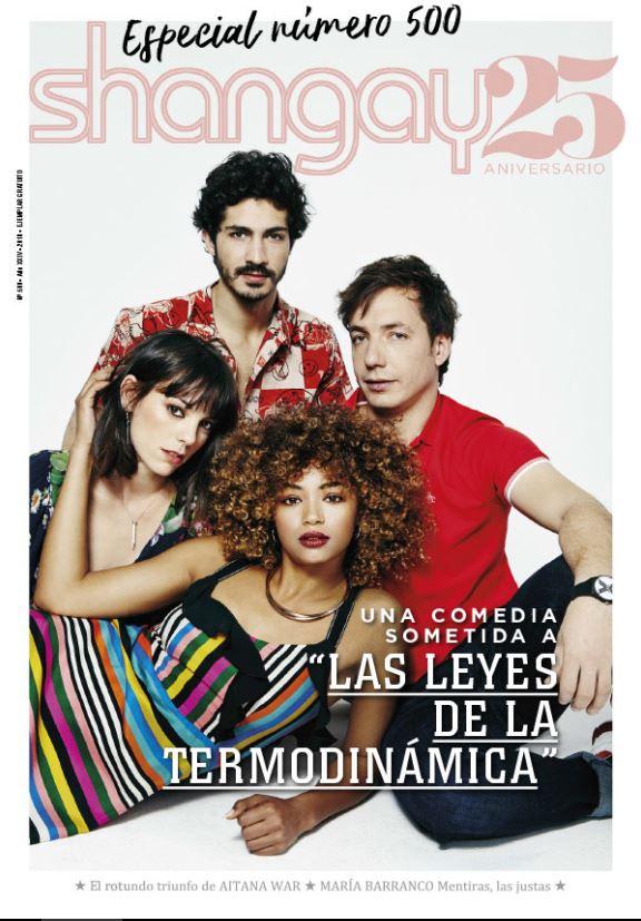 Shangay es la revista número para gays del mundo hsipano