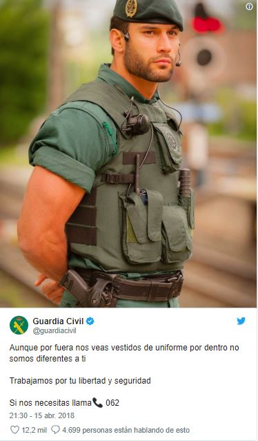 relatos gays con un guardia civil