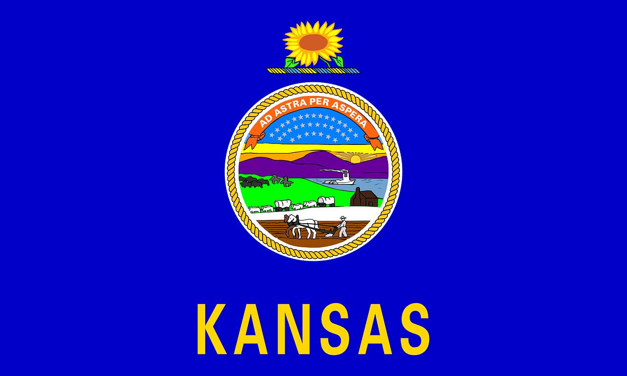 bandera del Estado de Kansas