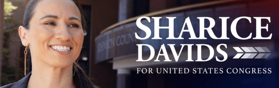 sharice davids es indígena lesbiana y representante en el Congreso de Usa por KAnsas