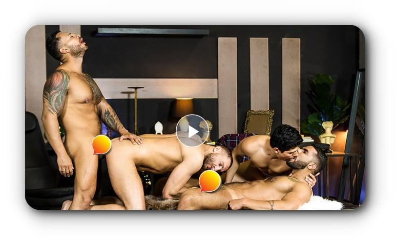 escena de cine porno gay