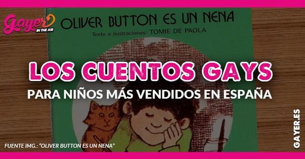 Los cuentos gays más vendidos en España