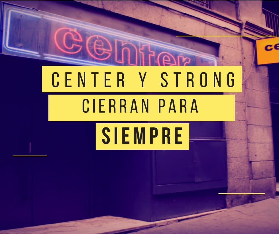 Strong y Sauna Center cierre definitivo