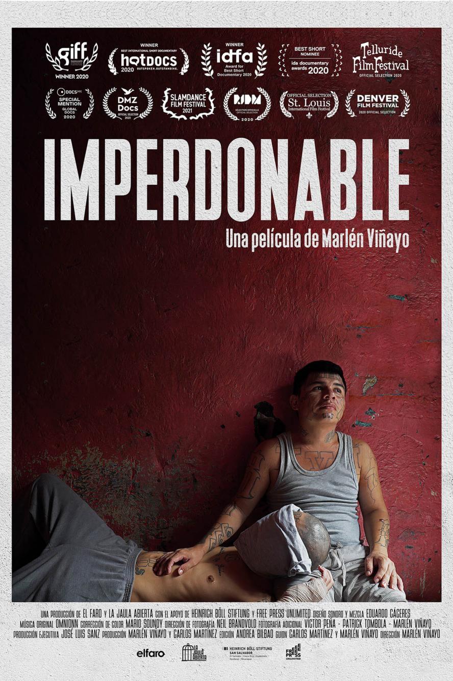 cartel del corto documental imperdonable