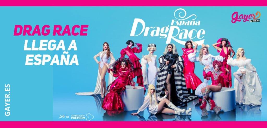 Drag Race España llega a A3 Premium