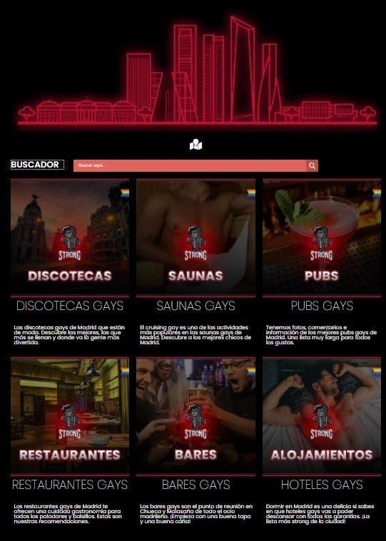 GUIA GAY de MADRID